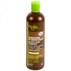 Shampoing au savon d'Alep cheveux normaux