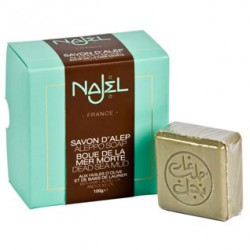 Savon d'Alep boue de la mer morte Najel collection