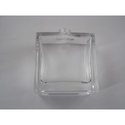 Flacon verre rectangle haut 50 ml