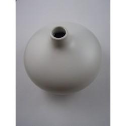 Vase ceramique blanc pour diffuseur à tiges