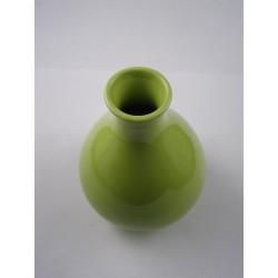 Vase poire vert pour diffusion à tiges