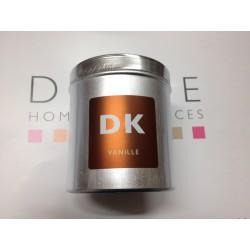 Bougie parfumée boite métal vanille drake