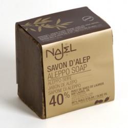 Savon d'Alep laurier et olive 40%