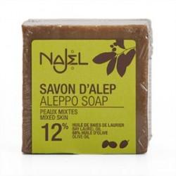 Savon d'Alep 12 pour cent HBL Najel 200 g