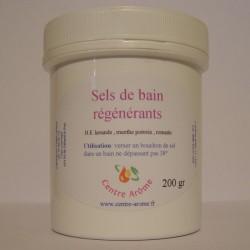 Sels de bain régénérants aux huiles essentielles