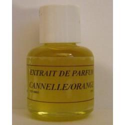 Extrait de parfum cannelle-orange