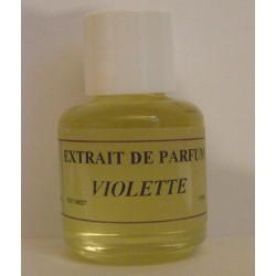 Extrait de parfum violette