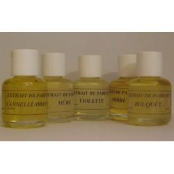 Pack 5 extraits de parfum pour diffuseur ou pot pourri