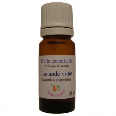 Flacon d'huile essentielle de Lavande vraie 10 ml