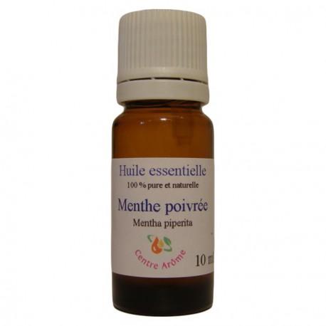 Flacon d'huile essentielle de Menthe poivrée 10 ml