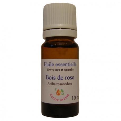 Flacon d'huile essentielle de Bois de rose 10ml