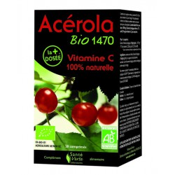 Complément alimentaire Acerola BIO vitamine C