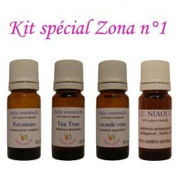 Kit d'huiles essentielles spécial zona n°1
