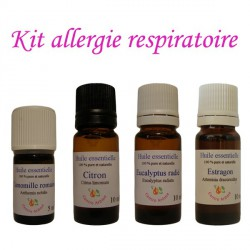 Kit d'huiles essentielles contre les allergies respiratoires