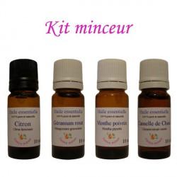 Kit d'huiles essentielles minceur