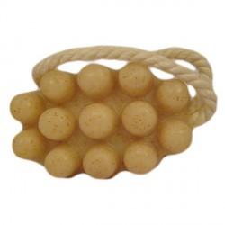 Savon de massage artisanal huile de noyaux d'abricot