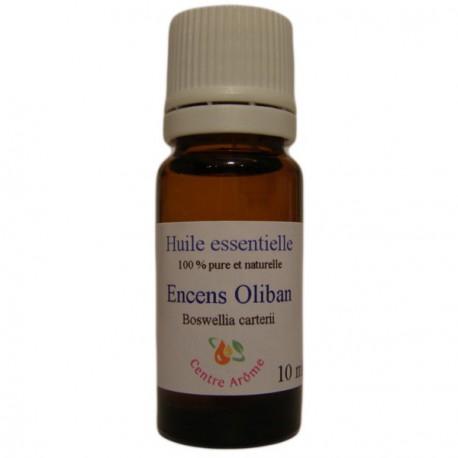 Flacon d'huile essentielle d'encens ou oliban 10ml