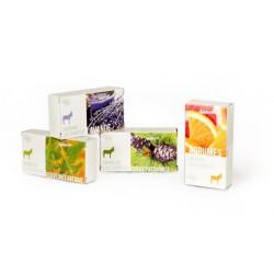 Savon au lait d'anesse BIO parfum lavande