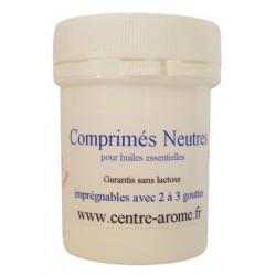 Comprimés neutres pour huiles essentielles