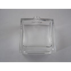 Flacon verre rectangle haut 50 ml