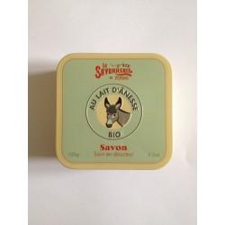 Savon au lait d'ânesse BIO La Savonnerie de Nyons 100 g