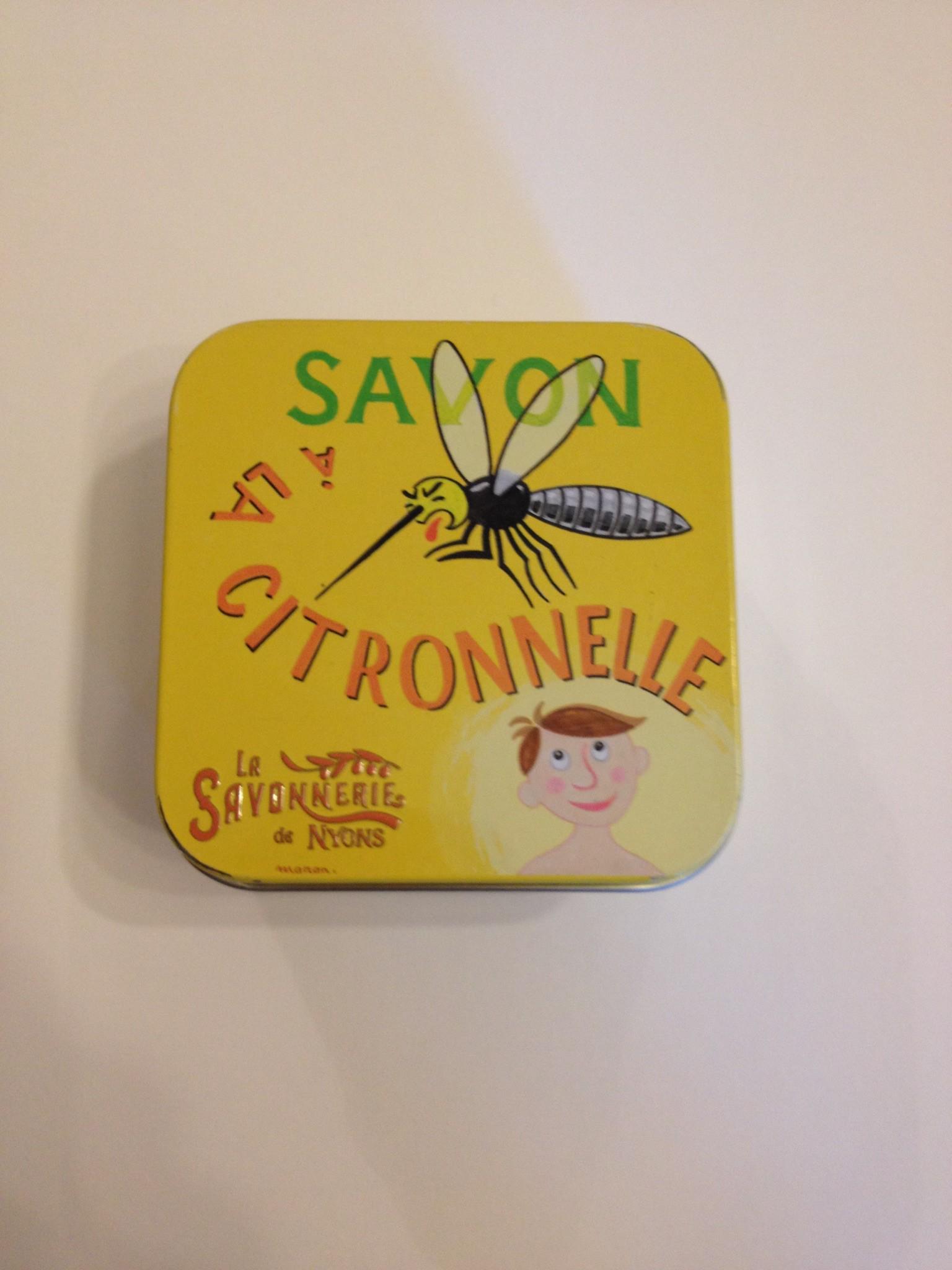 savon a la citronnelle