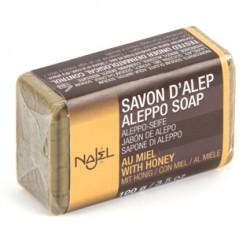 Savonnette d'Alep enrichie au miel 100 g Najel