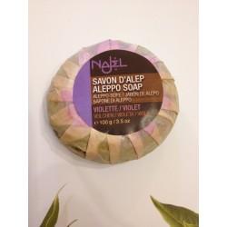 Savon d'Alep parfumé à la violette 100 g Najel