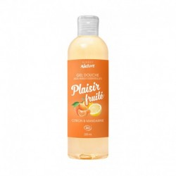 Gel douche BIO aux huiles essentielles plaisir fruité 200 ml
