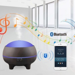 Diffuseur aromatique bluetooth et 15 couleurs LED