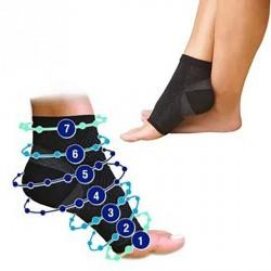 Chaussette de compression pour pieds douloureux