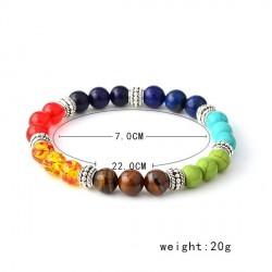 Bracelet femme d'harmonisation des 7 chakras