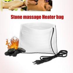 Sac chauffant électrique pour pierres de massage
