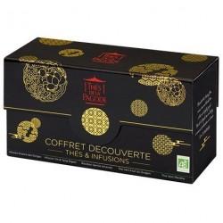 Coffret thés découverte Empire céleste 5x5 sachets