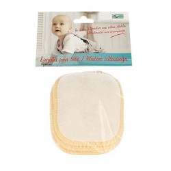 Lngettes pour bébé BIO Eco conseil sachet de 5