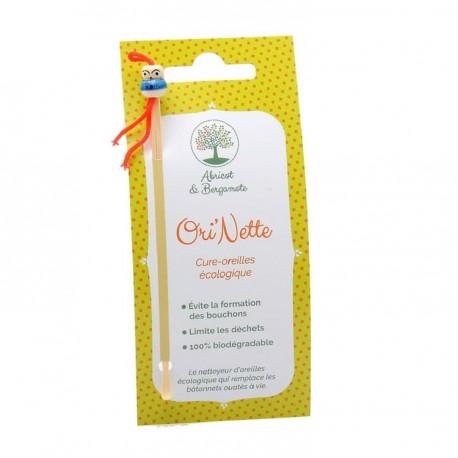 Ori'Nette cure oreilles écologique Abricot et Bergamote