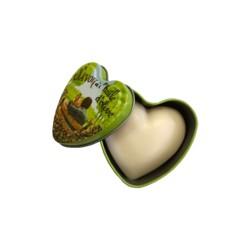 Savon boîte métal Saint Valentin en coeur 100 g