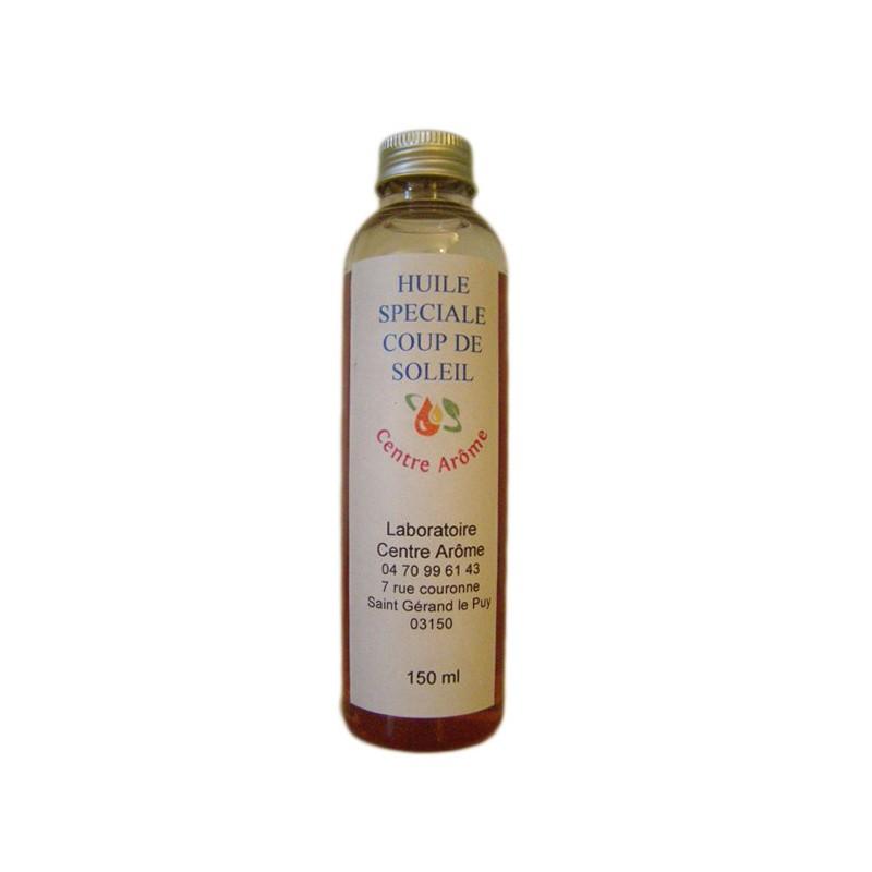 Huile apaisante coups de soleil aux huiles essentielles centre arome - Huile essentielle coup de soleil ...