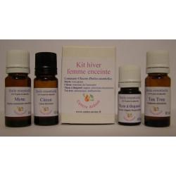 Kit huiles essentielles hiver femme enceinte
