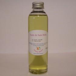 Huile de bain bébé aux huiles essentielles