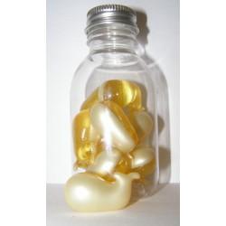 Perles de bain baleine ananas