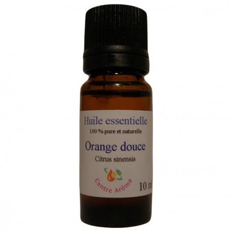 Flacon d'huile essentielle d'Orange douce 10 ml