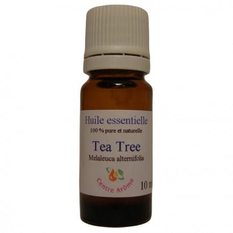 Flacon d'huile essentielle de Tea Tree 10 ml
