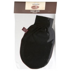 Gant de gommage noir