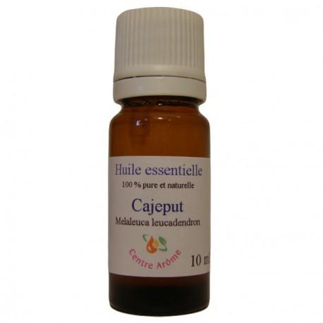 Flacon d'huile essentielle de Cajeput 10ml