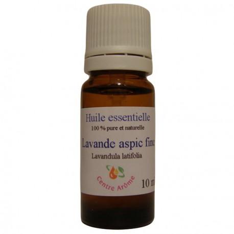 Flacon d'huile essentielle de Lavande Aspic fine 10ml
