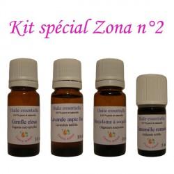 Kit d'huiles essentielles spécial zona n°2