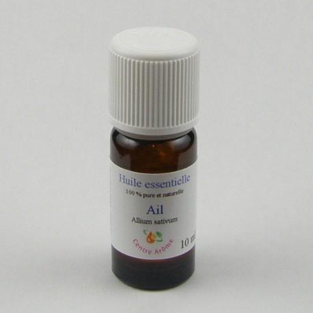 Flacon huile essentielle ail 10ml