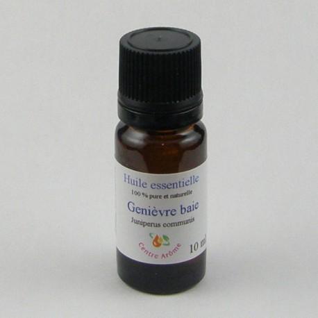 Flacon huile essentielle genièvre 10ml
