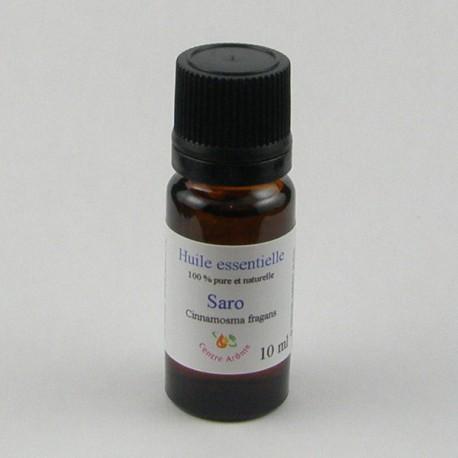 Flacon huile essentielle saro 10ml